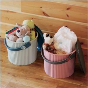 Hachiman Kasei Omnioutil Scandinavian Plastikspand med låg