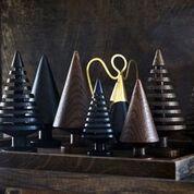 The Oak Men Angel brass Engel i messing til toppen af de udskåret juletræer