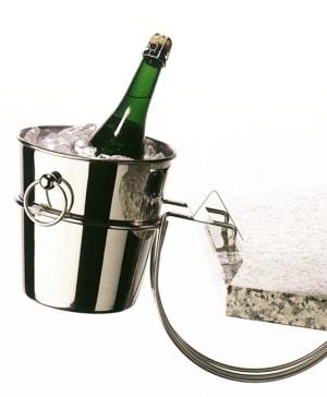 Leopold Vienna Bordholder i krom til champagnekøler